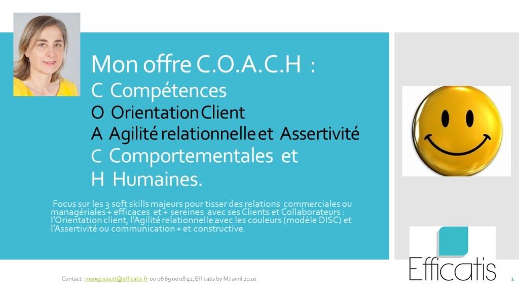 """""""ça coince  ou ça grince"""" avec vos clients ou collaborateurs ? Passez au mode """"COACH""""."""